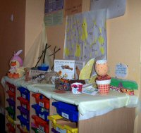 Easter Display by the Playgroup